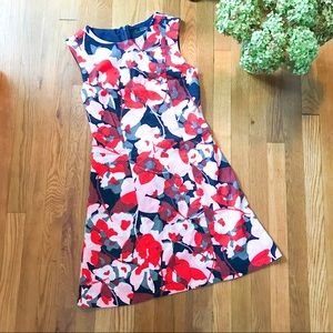 The Limited Floral Print Sleeveless Dress